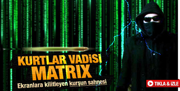 Kurtlar Vadisi Pusu'da Matrix sahnesi