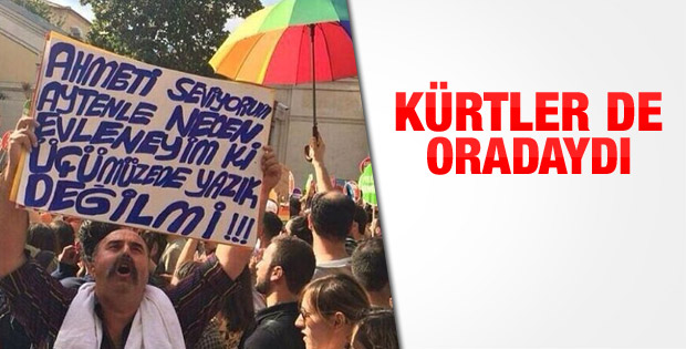 Taksim'de LGBTİ yürüyüşü