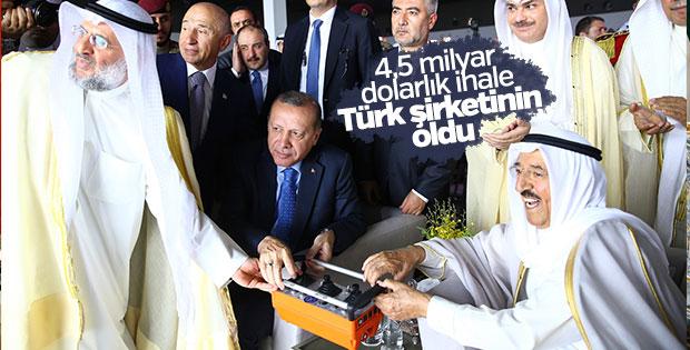 Kuveyt'in yeni havalimanına Türk imzası