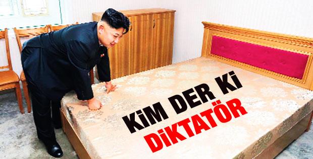 Kuzey Kore lideri Kim'in yatak testi