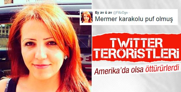Sosyal medyada aşağılık terör propagandası