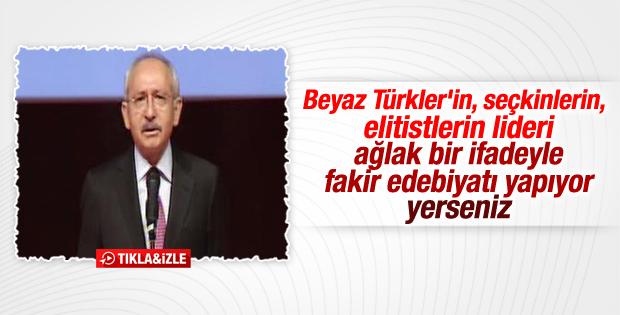 Kılıçdaroğlu'nun İstanbul Kongre Merkezi konuşması