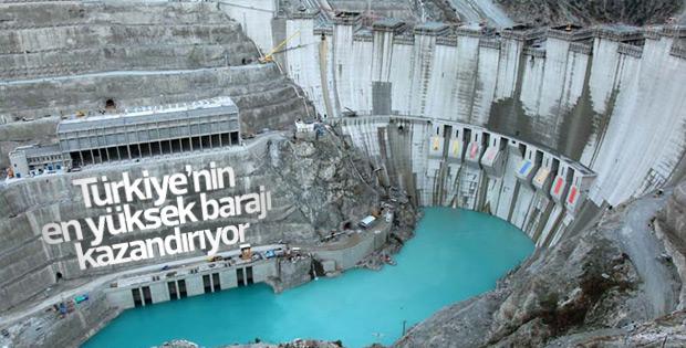 Deriner Barajı kazandırıyor