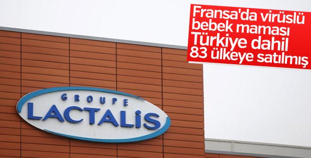 Fransa'da virüslü bebek maması 83 ülkeye satılmış