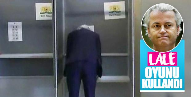 Türk düşmanı Wilders sandık başında