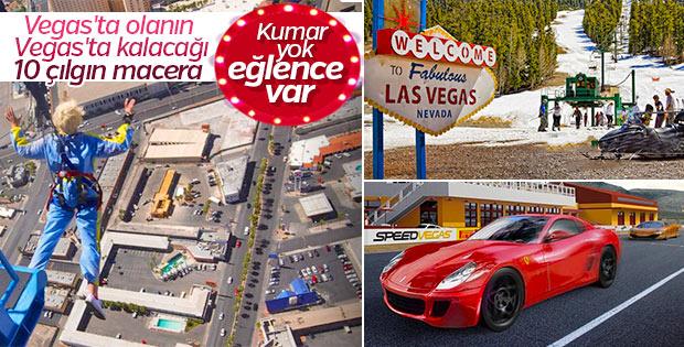 Sadece Las Vegas'ta yapabileceğiniz 10 aktivite