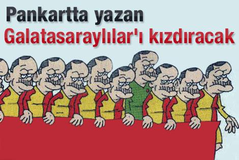 Latif Demirci'nin karikatürü Galatasaraylılar'ı kızdıracak