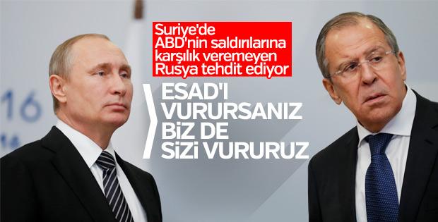 Rusya'dan ABD'ye Esad uyarısı: Karşılık veririz