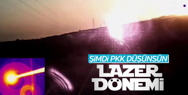 Türk askeri lazer silah sistemi kullanmaya başlayacak
