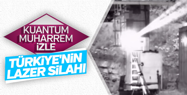 IŞIN Lazer Silahı gövde gösterisi yaptı