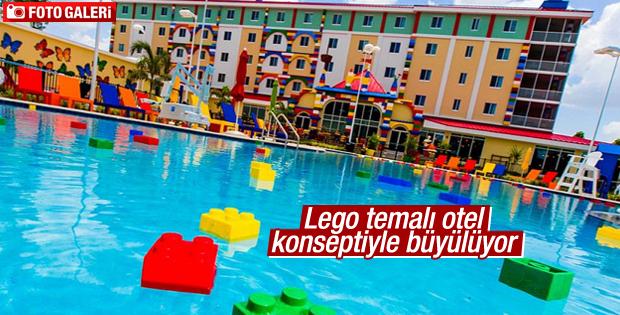Lego temalı otel konseptiyle büyülüyor