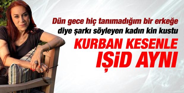 Leman Sam: Benim için IŞİD ile kurban kesen birdir