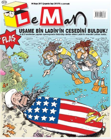 Leman Usame Bin Ladin'in cesedini buldu