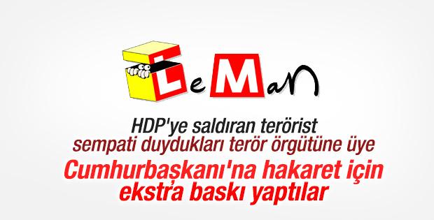 Leman'dan Erdoğan'a hakaret için ikinci baskı