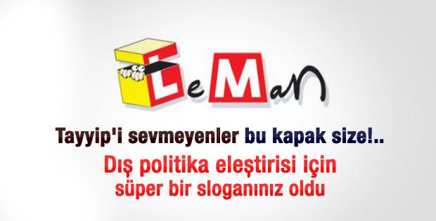 Leman'ın Erdoğan kapağı