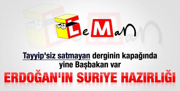 Leman'ın Erdoğanlı savaşa hayır kapağı