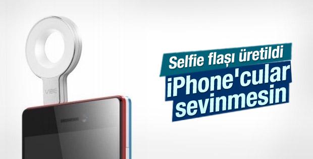 Lenovo selfie flaşını tanıttı