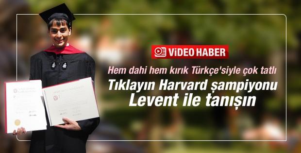 Harvard birincisi Levent Alpöge CNN'e konuştu