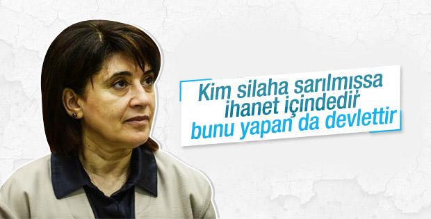 Leyla Zana: Kim silaha sarılmışsa halklara ihanet eder
