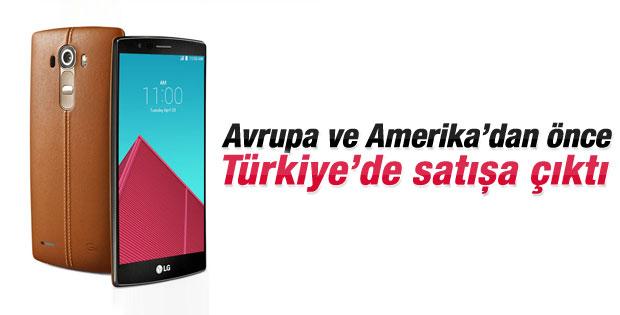 LG G4 Türkiye'de satışa çıktı