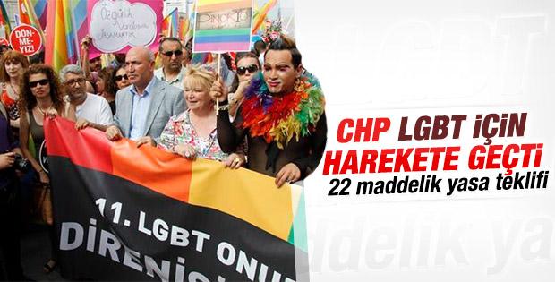 CHP'li Mahmut Tanal'dan LGBTİ hakları için yasa teklifi