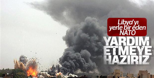 NATO: Libya'ya yardıma hazırız