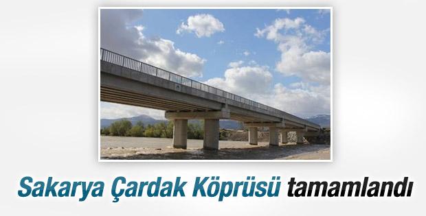 Sakarya Çardak Köprüsü tamamlandı