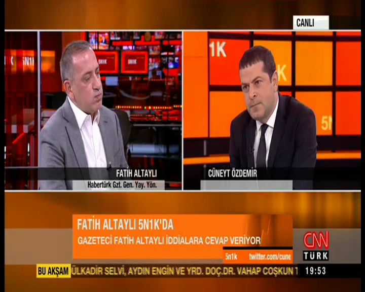 Fatih Altaylı: Ben hiçbir muhabirimi kovmadım