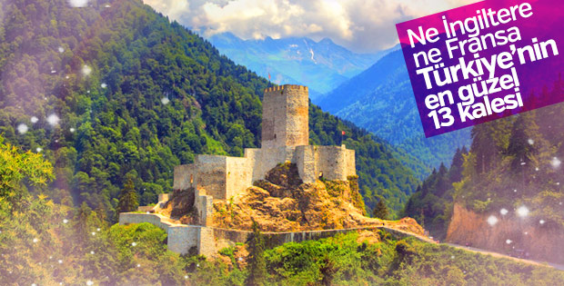 Türkiye'nin en iyi 13 kalesi