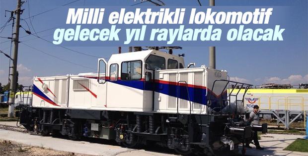 Milli elektrikli lokomotif gelecek yıl raylarda