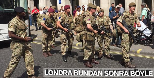 İngiltere'de askerler sokağa indi