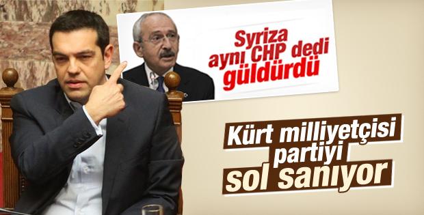 Syriza'dan seçimlerde HDP'ye destek