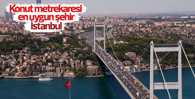 Konut alımında en uygun şehir İstanbul oldu