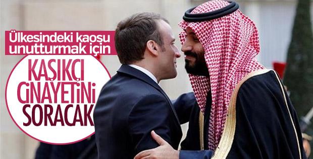 Macron G20 Zirvesi'nde Selman'la görüşecek