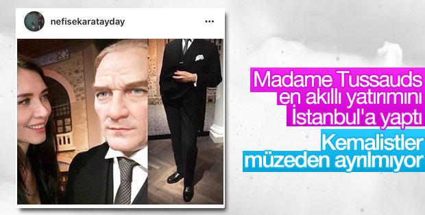 Kemalistler Madame Tussauds müzesine akın ediyor