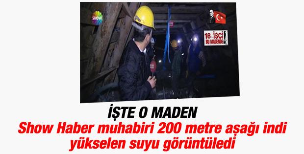 Show Haber Ermenek'teki madene girdi