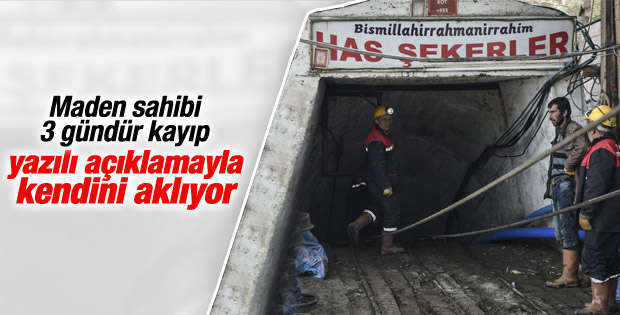 Karaman'daki madeni işleten şirket: Doğal afet İZLE