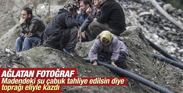 Maden ocağında acılı bekleyiş sürüyor İZLE
