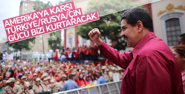 Venezuela lideri Maduro'dan Türkiye açıklaması