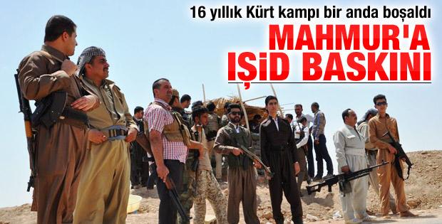Mahmur Kampı'nda IŞİD tahliyesi