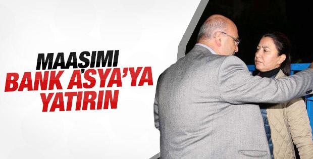 CHP'li Mahmut Tanal: Maaşımı Bank Asya'ya yatırın