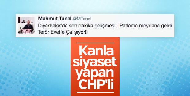 Mahmut Tanal Diyarbakır'daki patlamayı Evet'e bağladı