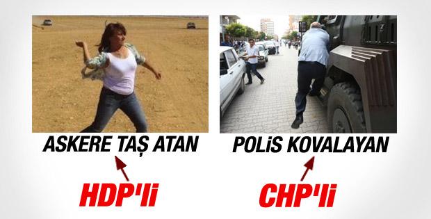 CHP'li Mahmut Tanal polis aracını kovaladı
