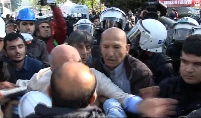 CHP'li vekil Mahmut Tanal'dan polise yumruk ile ilgili görsel sonucu