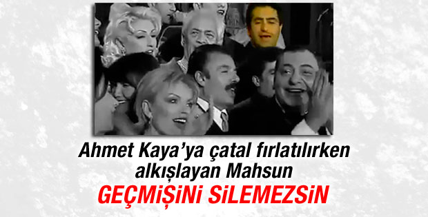 Devleti suçlayan Mahsun Kırmızıgül Ahmet Kaya'yı unuttu