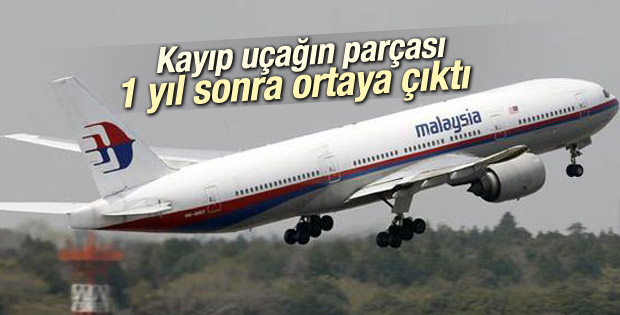 Hint Okyanusu'nda bulunan parça Malezya uçağına ait