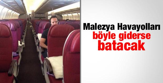 Malezya Havayolları'nı kimse tercih etmiyor