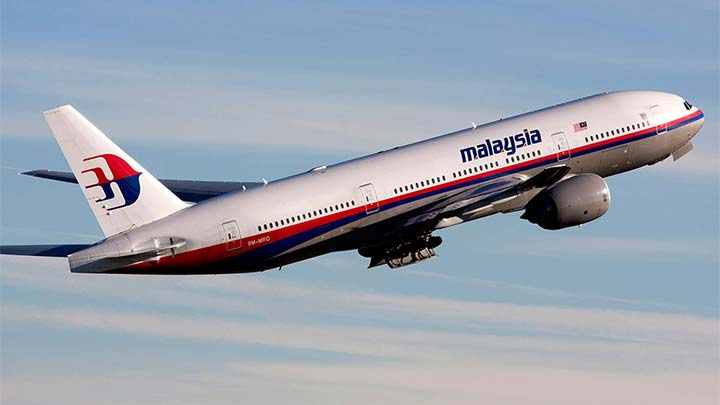 Malezya uçağına ait beyaz cisimler bulundu