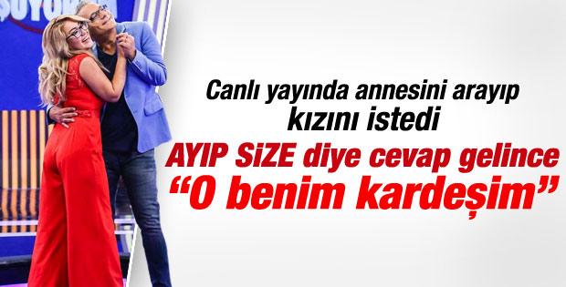 Mehmet Ali Erbil'e yarışmacı kızın annesinden şok yanıt