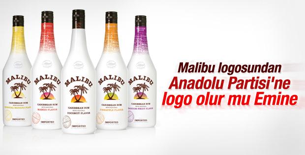 Anadolu Partisi'nin logosu Malibu'dan çalıntı çıktı